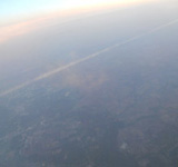 view of ground from plane